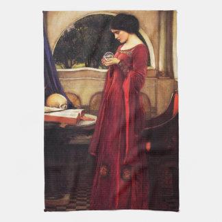 Waterhouse la toalla de cocina de la bola de crist