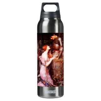 Waterhouse Lamia and the Soldier Insulated Water Bottle