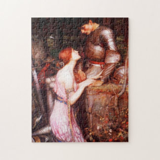 Waterhouse Lamia and the Soldier Jigsaw Puzzle