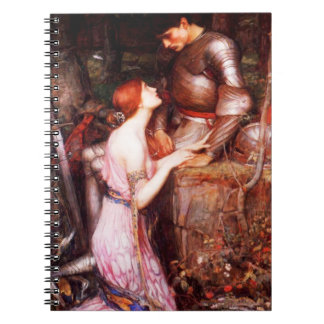 Waterhouse Lamia and the Soldier Notebook