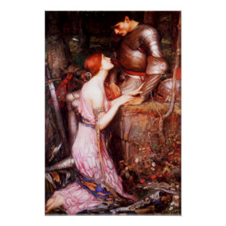 Waterhouse Lamia and the Soldier Poster