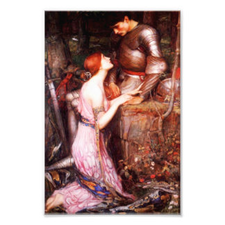 Waterhouse Lamia and the Soldier Print Art Photo