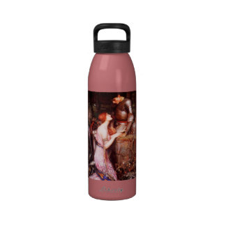 Waterhouse Lamia and the Soldier Water Bottle
