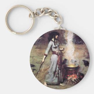 Waterhouse mágico 1886 del círculo llaveros