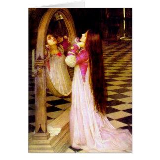 Waterhouse Mariana en la tarjeta de felicitación d