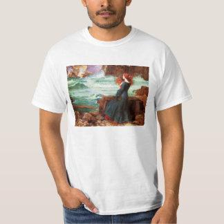Waterhouse Miranda la camiseta de la tempestad Playera