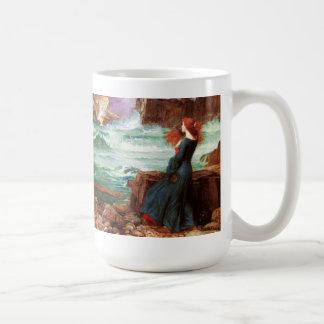 Waterhouse Miranda la taza de la tempestad