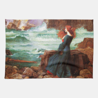 Waterhouse Miranda The Tempest Kitchen Towel