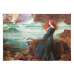 Waterhouse Miranda The Tempest Placemat Cloth Placemat