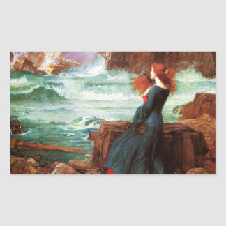 Waterhouse Miranda The Tempest Stickers