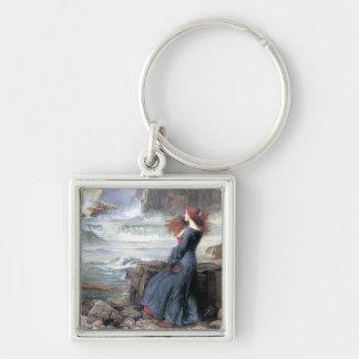 Waterhouse miranda the tempest woman ship wreck keychain