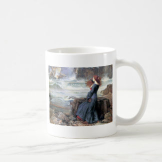 Waterhouse miranda the tempest woman ship wreck classic white coffee mug