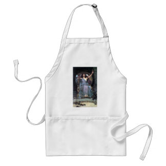 Waterhouse Offering Cup Ulysses woman Apron