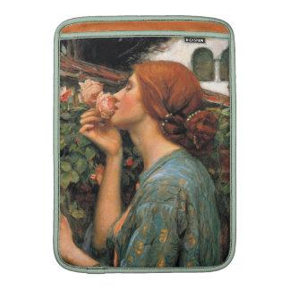 Waterhouse: Olor de rosas Fundas MacBook