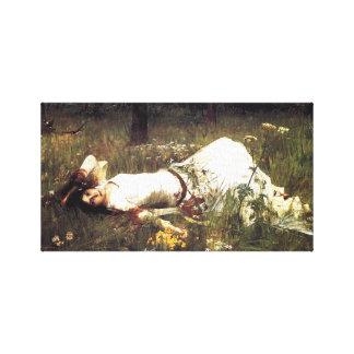Waterhouse Ophelia Canvas Print