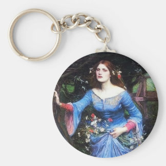 Waterhouse Ophelia Key Chain