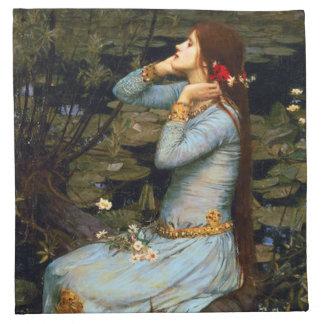 Waterhouse Ophelia Napkin