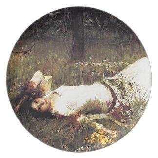 Waterhouse Ophelia Plate