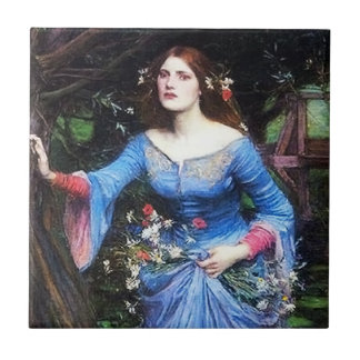 Waterhouse Ophelia Tile