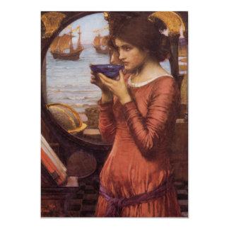 Waterhouse Pre-Raphaelite Art Destiny Card