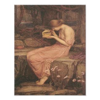 """Waterhouse """"psique de Juan que abre la caja de oro Fotos"""
