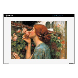 "Waterhouse: Smell of Roses 15"" Laptop Skins"