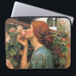 "Waterhouse: Smell of Roses Computer Sleeve<br><div class=""desc"">A beautiful classic women laptop sleeve,  painted by the English painter John William Waterhouse.</div>"