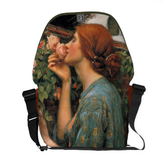 Waterhouse: Smell of Roses Courier Bag