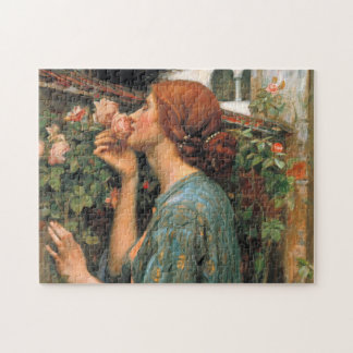 Waterhouse: Smell of Roses Jigsaw Puzzle