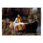 Waterhouse The Lady of Shalott Greeting Card