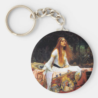 Waterhouse The Lady of Shalott Key Chain