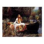 Waterhouse The Lady of Shalott Postcard