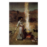 Waterhouse The Magic Circle Poster