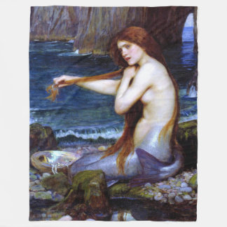 Waterhouse: The Mermaid Fleece Blanket