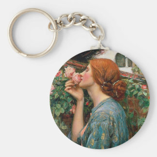 Waterhouse The Soul of the Rose Key Chain