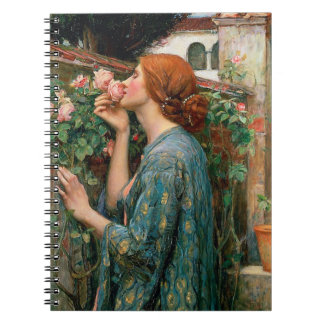 Waterhouse The Soul of the Rose Notebook