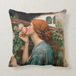 Waterhouse The Soul of the Rose Pillow