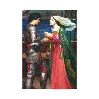 Waterhouse Tristan and Isolde Canvas Poster