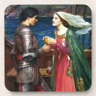 Waterhouse Tristan and Isolde Coasters