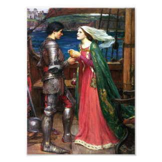 Waterhouse Tristan and Isolde Print Photo Print
