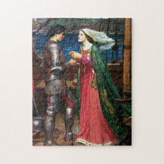 Waterhouse Tristan and Isolde Puzzle