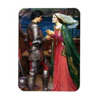 Waterhouse Tristan e imán de Isolda