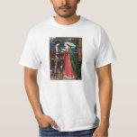 Waterhouse Tristan y camiseta de Isolda Poleras