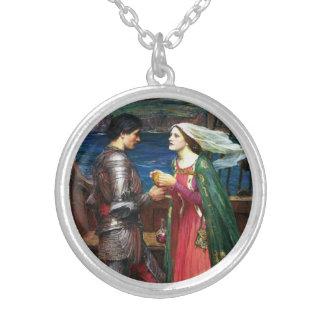 Waterhouse Tristan y collar de Isolda