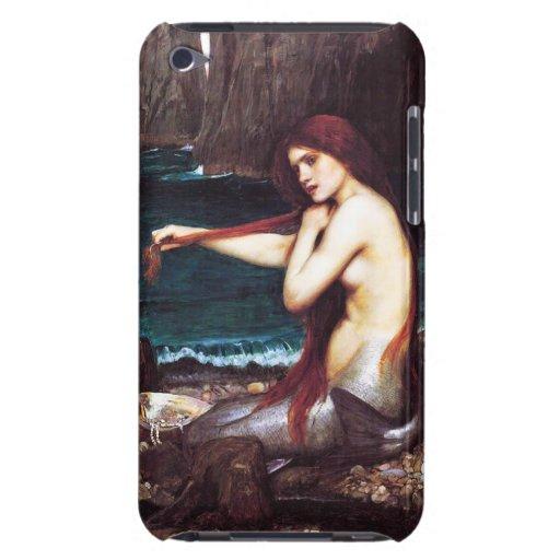 Waterhouse Vintage Mermaid iPod Touch Case