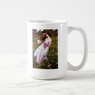 Waterhouse Windflowers Classic White Coffee Mug