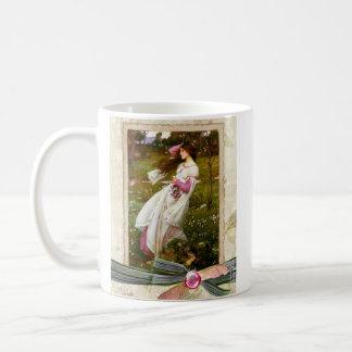 Waterhouse Windflowers Collage Coffee Mugs