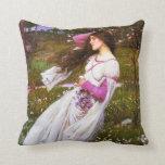 Waterhouse Windflowers Pillow