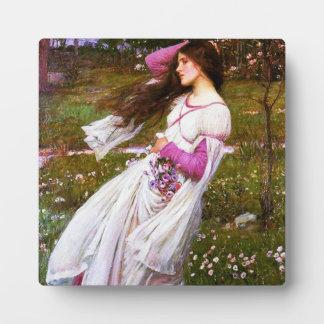 Waterhouse Windflowers Plaque