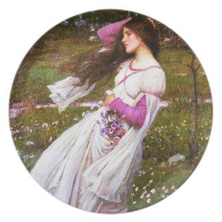 Waterhouse Windflowers Plate